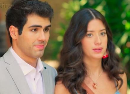 Teaser: Rômulo dá de cara com Nanda e Renato, e clima pesa