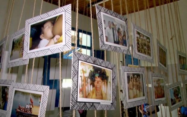 Exposição Fotográfica Indígena é realizada em Ji-Paraná (Foto: Bom Dia Amazônia)