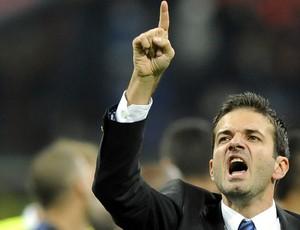 Andrea Stramaccioni técnico Inter de Milão (Foto: Getty Images)