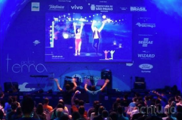 Campuseiros celebram fim da Campus Party 2015 com batalha de games e prêmios (Foto: Paulo Figueiredo / TechTudo)