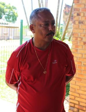 Celino, técnico do Guajará (Foto: Júnior Freitas)