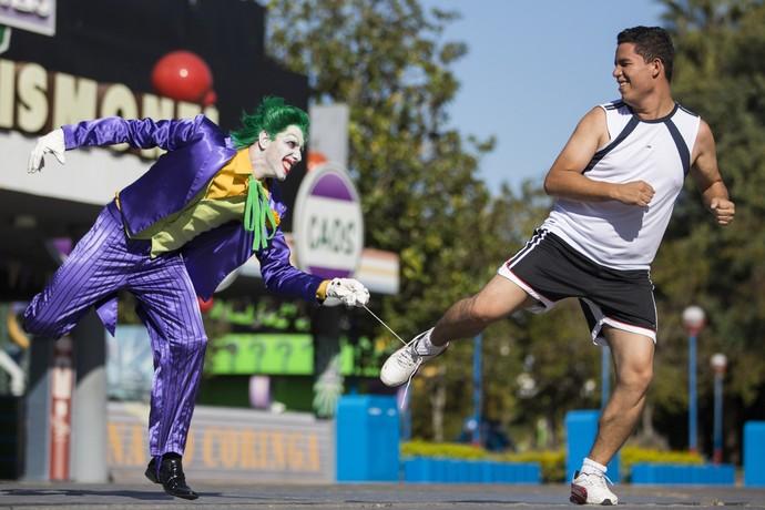 Hopi Hari promove corrida de rua Run to Fun no dia 14 de junho de 2015  (Foto: Otávio Dias/VIPCOMM)