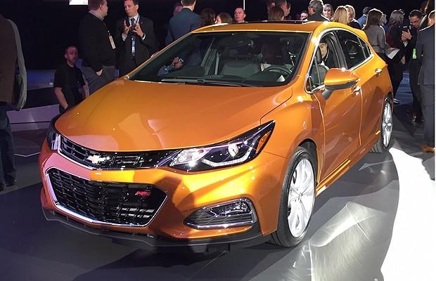 Novo Chevrolet Cruze (Foto: Michelle Ferreira/Autoesporte)