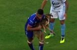 Cachorro invade campo na vitória do  Unión de Santa Fe sobre Temperley (Reprodução / Youtube)