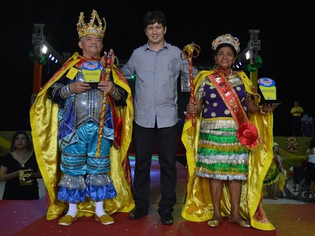 Escolhidos Rei e Rainha da Terceira Idade e Rainha Trans de Teresina (Foto: Divulgação/PMT)