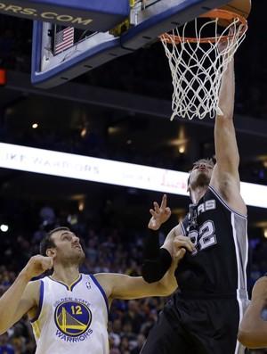 Tiago Splitter, San Antonio Spurs x Golden State Warriors - AP (Foto: AP)
