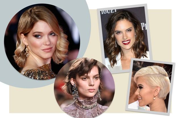 Penteados para convidadas (Foto: Arte Vogue Online (com fotos da Getty Images)