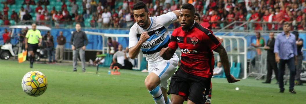 Confira os melhores momentos de  Vitória 0x1 Grêmio pela 28ª rodada (Francisco Galvão/EC Vitória/Divulgação)