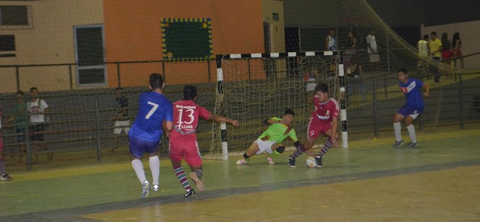 Taça Roraima de Futsal Adulto, Caxiense e Vivaz (Foto: Nailson Wapichana)