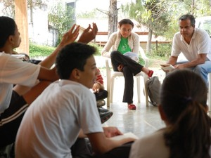 Escola Instituto Pandavas - Monteiro Lobato (Foto: Daniel Corrá/G1)