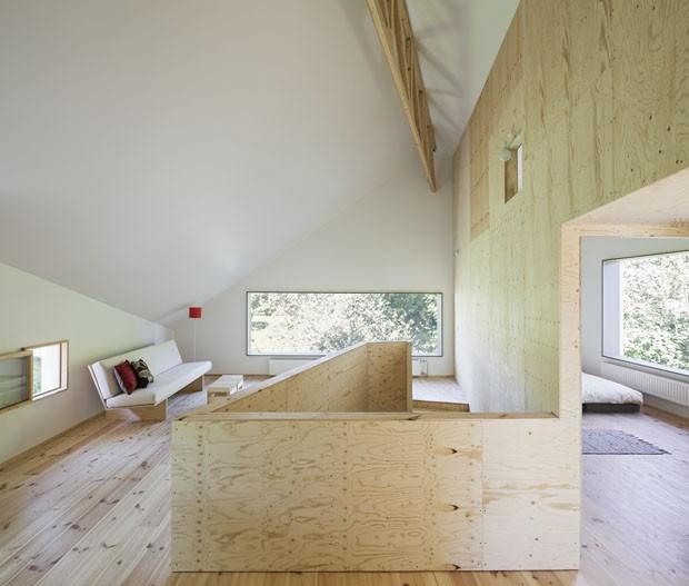 Casa pré-fabricada (Foto: Michael Perlmutter/Divulgação)