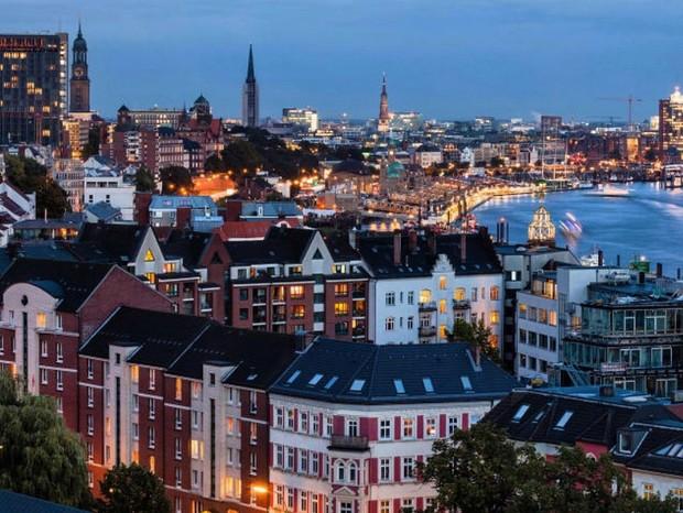 Hamburgo, na Alemanha (Foto: Reprodução)