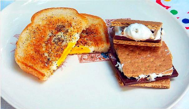 Aprenda a fazer dois lanches americanos: um doce e um salgado (Foto: Reprodução EPTV)