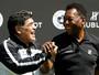 """Maradona age contra crise na AFA: """"Quero um tempo de paz e progresso"""""""