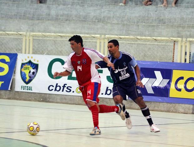 Alecrim vence a primeira na Taça Brasil de Futsal, em Assú (Foto: Zerosa Filho/CBFS/Divulgação)