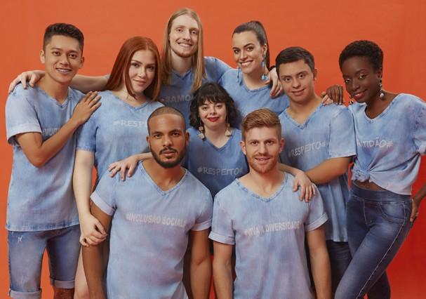 Campanha da L.Seven Jeans  (Foto: Divulgação)
