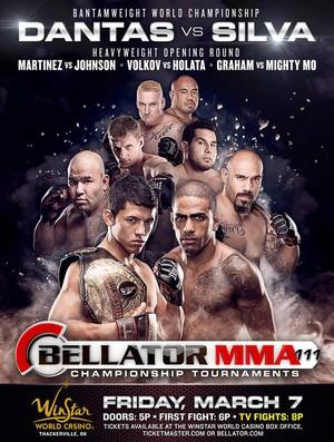 pôster MMA Bellator 111 Dantas x Silva (Foto: Divulgação)