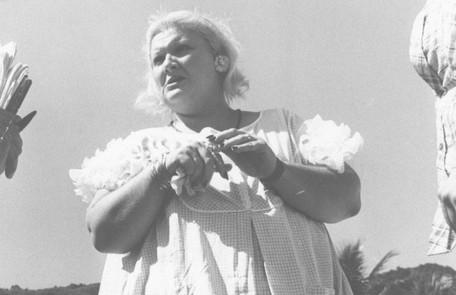 Wilza Carla foi a Dona Redonda da primeira versão de 'Saramandaia'. De tanto comer, a personagem acaba explodindo Arquivo