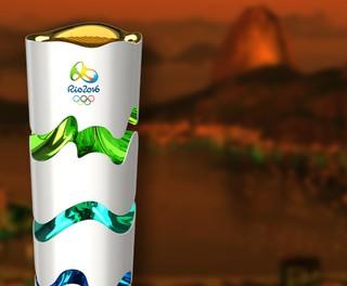 CARROSSEL  tocha olímpica rio 2016  (Foto: Editoria de Arte)
