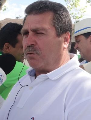 Remi Calheiros, presidente do Murici (Foto: Leonardo Freire/GLOBOESPORTE.COM)