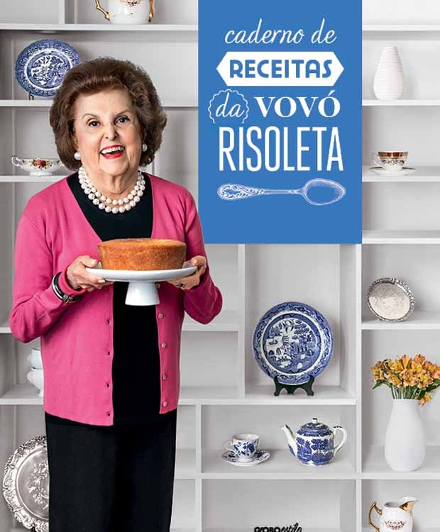 caderno de receitas vovó Risoleta (Foto: Divulgação)