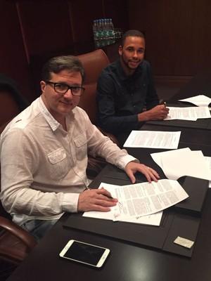 Hernani, contrato, Zenit (Foto: Luiz Carlos Junior)