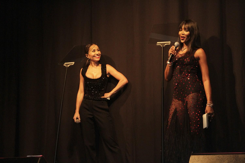 Sabrina Sato e Naomi Campbell (Foto: Divulgação)