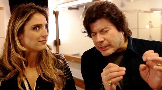 Rafa Brites como? #DeCara com as explicações de Paulo Ricardo (Foto: Gshow)