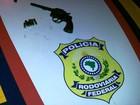 Homem é preso em flagrante com revólver em carro roubado no RS