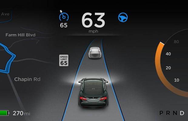 Autopilot, da Tesla (Foto: Divulgação)