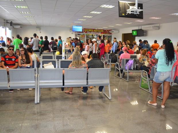 Ampliação incluiu a criação de novos terminais de embarque e desembarque (Foto: Adonias Silva/G1)