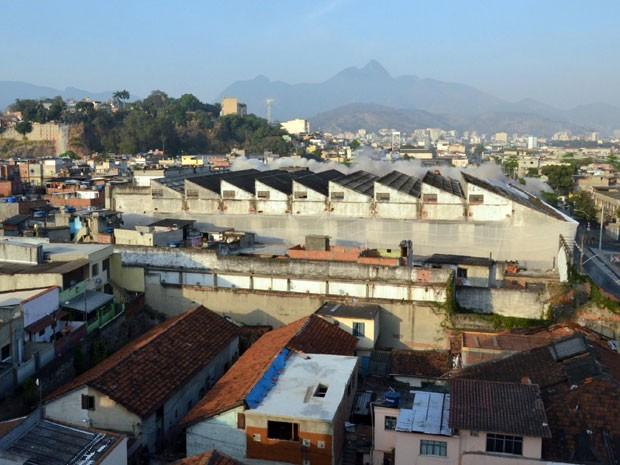 Prédio da antiga fábrica de produtos químicos  (Foto: Divulgação Prefeitura)