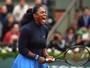 Serena reage, se impõe sobre novata e avança à semifinal em Roland Garros