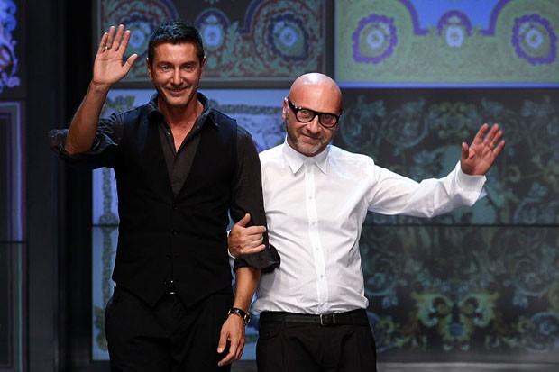Stefano Gabbana e Domenico Dolce (Foto: Vittorio Zunino Celotto/Getty Images)