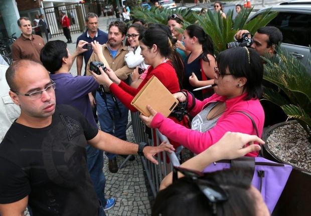 """Elenco do filme """"Se beber não case"""" no Rio (Foto: André Freitas/AgNews)"""