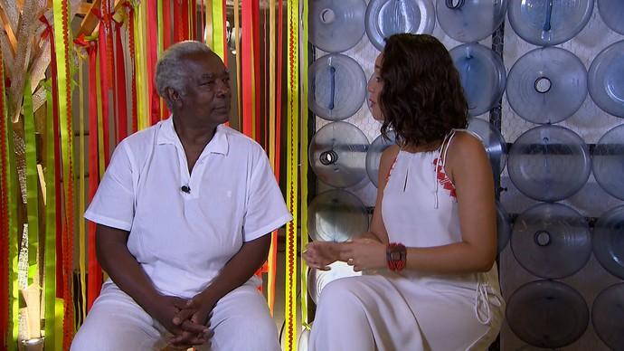 Mateus Aleluia conta a história do grupo musical baiano Os Tincoãs (Foto: TV Bahia)