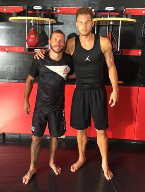 Donald Cerrone e Blake Griffin UFC NBA (Foto: Reprodução/Twitter)