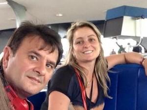 Cristiane Garcez era casada com o prefeito de Lages, Elizeu Mattos (Foto: Reprodução/Facebook)