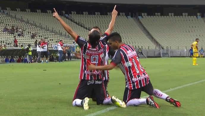 Ferroviário x Itapipoca Campeonato Cearense Arena Castelão (Foto: Reprodução/TV Verdes Mares)