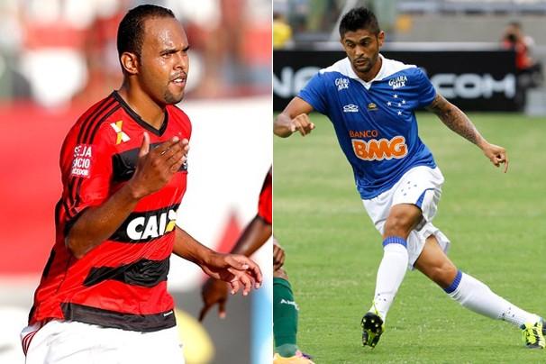 Flamengo e Cruzeiro estreiam na Libertadores da América na noite de quarta, dia 12 (Foto: Agência O Globo e Light Press)
