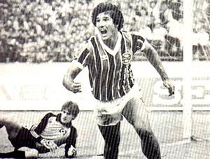 Renato Gaucho Grêmio 1983 (Foto: Site Oficial do Clube)