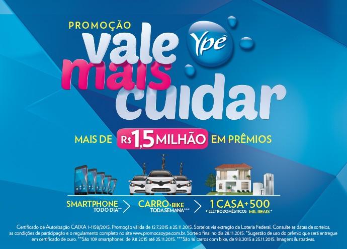 Participe!  (Foto: Divulgação/Ypê)
