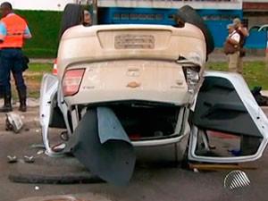 Jovem morre em acidente em Ondina (Foto: Reprodução/ TV Bahia)