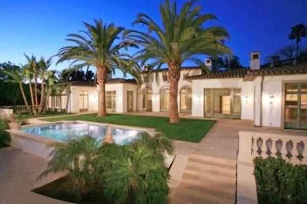 A casa de David Beckham e Victoria Beckham (Foto: Reprodução)