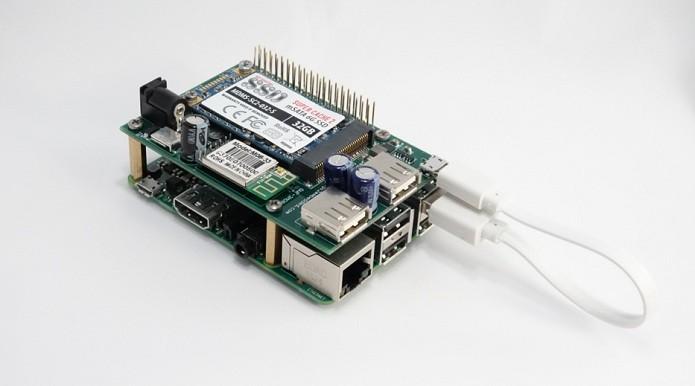 Módulo adiciona SSD à Raspberry Pi 2 (Foto: Divulgação/Pi 2 Design)