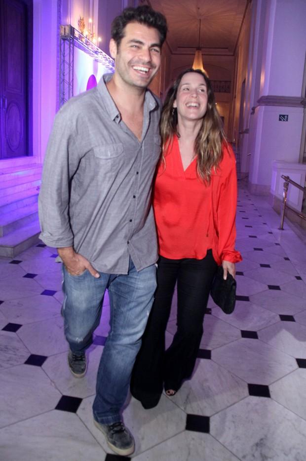 Thiago Lacerda e Vanessa Lóes (Foto: Thyago Andrade/Brazil News)