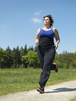 eu atleta corrida sobrepeso (Foto: Getty Images)