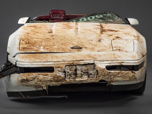 Corvette número 1 milhão será restaurado (Foto: Divulgação)