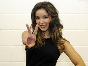 Liah Soares nos bastidores (Foto: The Voice Brasil/TV Globo)