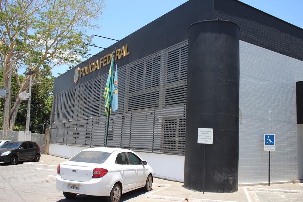 Presos serão encaminhados à sede da Polícia Federal do Piauí, em Teresina (Foto: Joana D'arc Cardoso/G1)